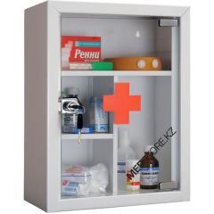 Шкаф медицинский (Аптечка MDA 39G (дверца из