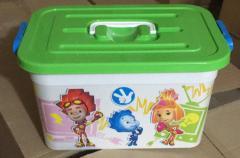 Ящик для игрушек Фиксики 10л (6шт/уп) 81022