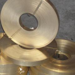 Tape of bronze 0,02 - 2 mm Brb2 Bramts9-2