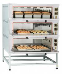 Шкаф пекарский электрический ЭШП-3-01