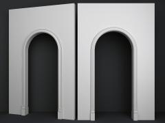 Обрамление арок