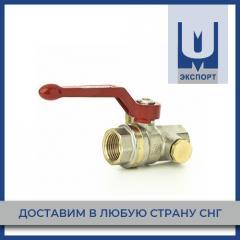 Кран латунный Tecofi BS1143 полнопроходной с