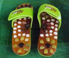Massage Jianwen slippers with natural stones, Goods for treatment and prevention, Goods for health and beauty