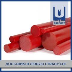 Полиуретановый стержень красный 100 мм ТУ