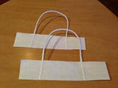 Cords from corrugations on paper strip for paper