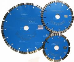 Алмазный диск по бетону сегментный