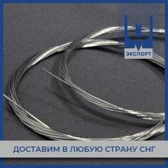 Проволока серебряная ПСр1 ГОСТ 19746-74