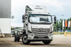 Onboard Foton Auman truck 3 series loading