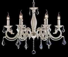 Светильники с хрустальными подвесками Maytoni Bronze 4 ARM245-06-W