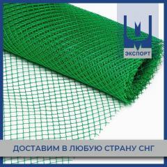 Сетка пластиковая зеленая (ромб)