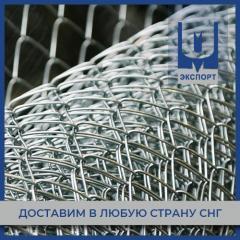 Сетка плетеная 10х1х1000 мм оцинкованная