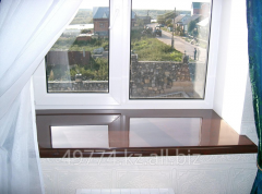 Window sill from an artificial stone