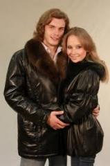Service jackets leather