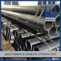 Труба стальная б/ш 114х14 мм 09Г2С ГОСТ 32528-2013