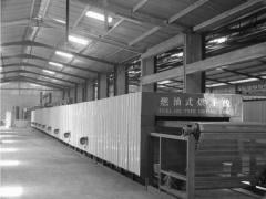 The line for production of egg trays,  power...