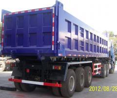 Dumping Foton Auman semi-trailer