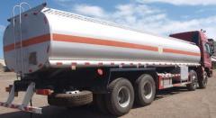 Fuel truck Foton Auman semi-trailer
