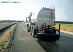 Massenza asphalt distributors in Kazakhstan,