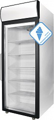 Морозильный шкаф со стеклянной дверью DB107-S