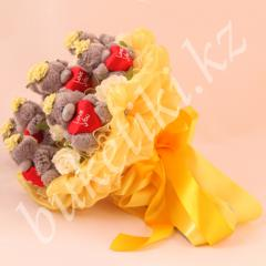 """Bouquet from Teddie's toys """"Charm"""