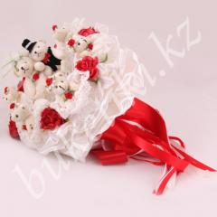 Bouquet Wedding of soft toys