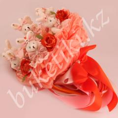 Bouquet from the Love soft toys