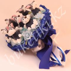 "Bouquet from toys ""Fantastic Nigh"