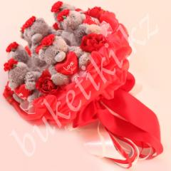 "Bouquet from toys ""Charm"