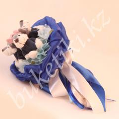 """Bouquet from the soft toys """"Small Miracle"""