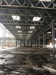 Metal constructions (columns, trusses, floor beams)