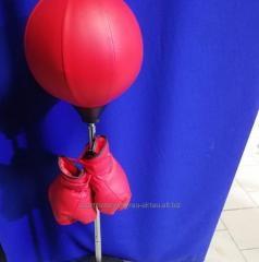 Перчатки боксерские и груша