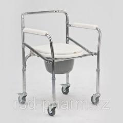 Кресло-коляска с санитарным оснащением для...