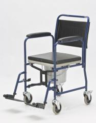 Кресло-каталка с санитарным оснащением Armed...