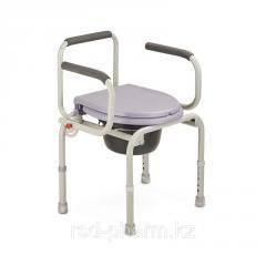 Кресло-туалет с откидными подлокотниками...
