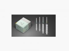 """Шприц инсулиновый Bioject 1 мл 100IU с иглой 30Gx12.5мм (1/2"""") 3-х компонентный"""
