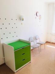 Пеленальный столик-тумба