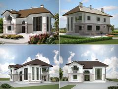 Проекты домов типовые в г. Астана от производителя