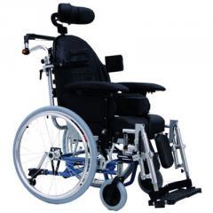 Кресло-коляска с ручным приводом от обода колесаExcel G7 (Модификация 1, с боковыми упорами для тела)