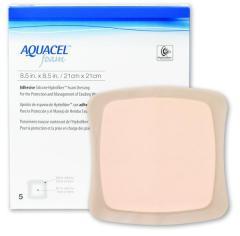 Аквасель Фоум с силиконовым адгезивом (Aquacel Foam, adh)21 х21 см