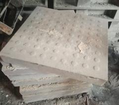 Плитка чугунная квадратная ГОСТ 1412- 85 Чугун Сч
