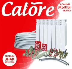 Pipes and fitting of Calore