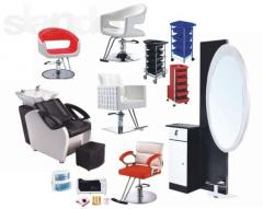 Chairs hairdressing salons, Equipment for