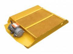 Vibrating sieve with vibrator IV-99