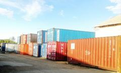 Containers sea