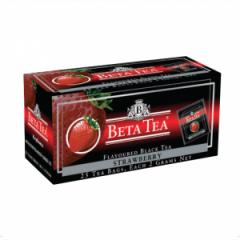 Чай Beta Tea, Strawberry, Пакетированный