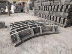 Отливки из легированной стали с особыми свойствами 110Г13Л