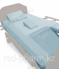 Простыни четырехсоставные натяжные (2 шт. в комплекте) для кровати МЕТ EMET