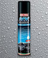 Полироль пластика SCIC BLUE SPRAY