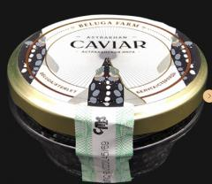Икра черная (гибрид белуга*стерлядь Caviar from Russia) с/б