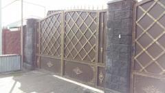 Ворота с иранской ковкой